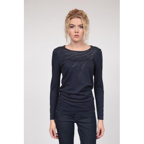 Блуза с дълъг ръкав 686