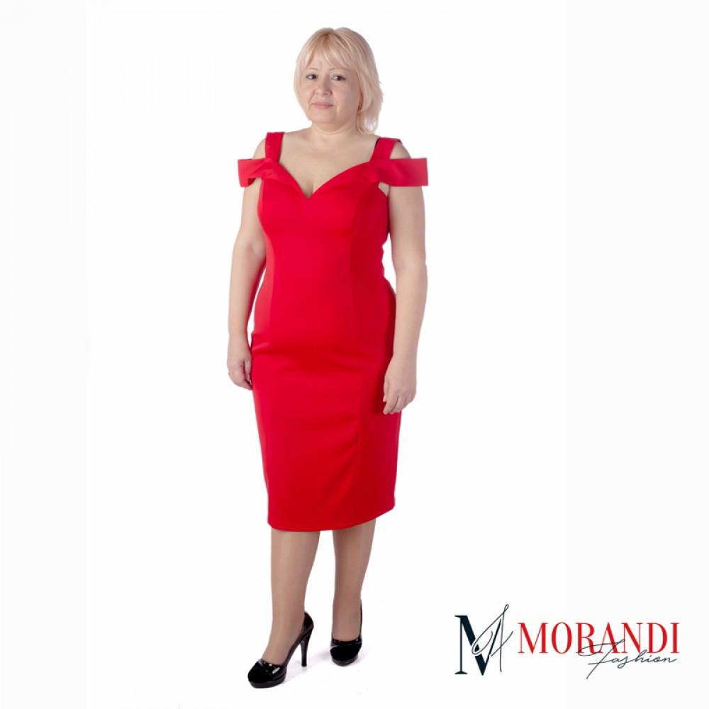 Червена рокля 1817 f7233d4b03a