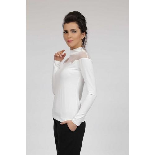 Блуза 007/17 бяла